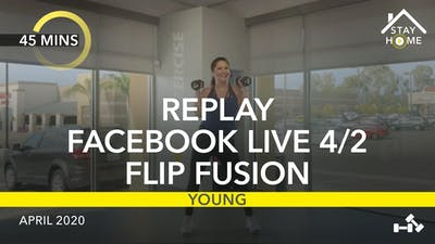 REPLAY FACEBOOK LIVE 4/2/20 by Jazzercise On Demand