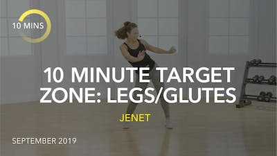 10 MINUTE TARGET ZONE: LEGS/GLUTES by Jazzercise On Demand