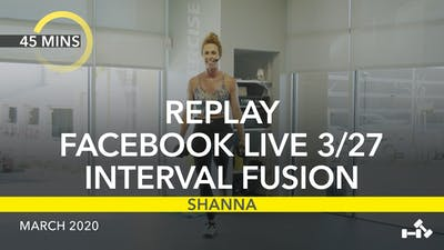 REPLAY FACEBOOK LIVE 3/27/20 by Jazzercise On Demand
