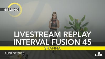 REPLAY INTERVAL FUSION 45 by Jazzercise On Demand