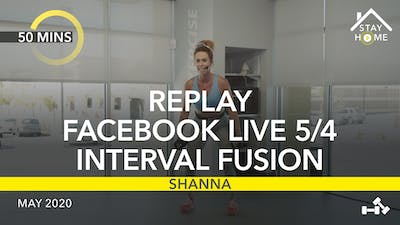 REPLAY FACEBOOK LIVE 5/4/20 by Jazzercise On Demand