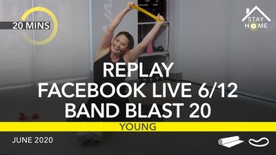 REPLAY FACEBOOK LIVE 6/12/20 by Jazzercise On Demand
