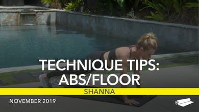 TECHNIQUE TIPS: ABS/FLOOR by Jazzercise On Demand