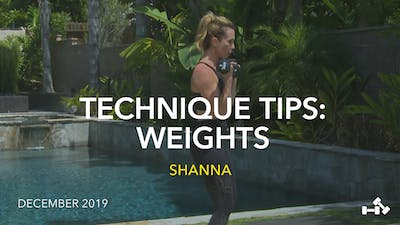 TECHNIQUE TIPS: WEIGHTS by Jazzercise On Demand
