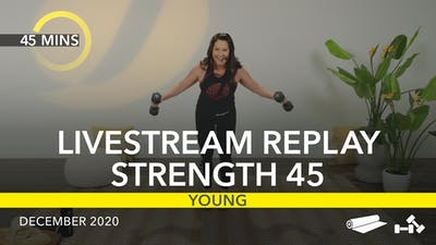 REPLAY STRENGTH 45 by Jazzercise On Demand