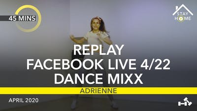 REPLAY FACEBOOK LIVE 4/22/20 by Jazzercise On Demand