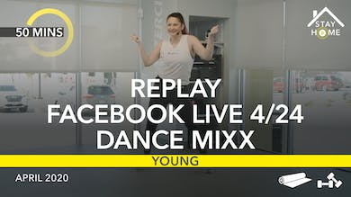 REPLAY FACEBOOK LIVE 4/24/20 by Jazzercise On Demand