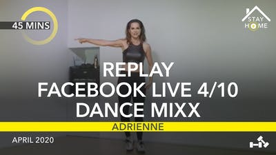 REPLAY FACEBOOK LIVE 4/10/20 by Jazzercise On Demand