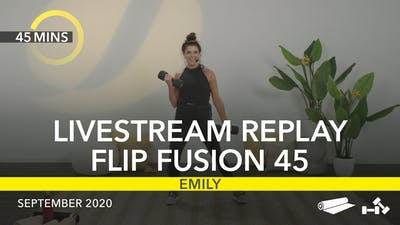 REPLAY FLIP FUSION 45 by Jazzercise On Demand