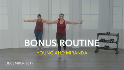 BONUS ROUTINE by Jazzercise On Demand
