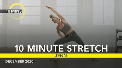 10 MINUTE STRETCH by Jazzercise On Demand
