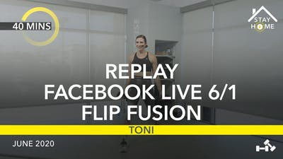 REPLAY FACEBOOK LIVE 6/1/20 by Jazzercise On Demand