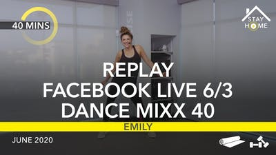 REPLAY FACEBOOK LIVE 6/3/20 by Jazzercise On Demand
