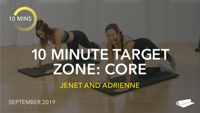 10 MINUTE TARGET ZONE: CORE by Jazzercise On Demand