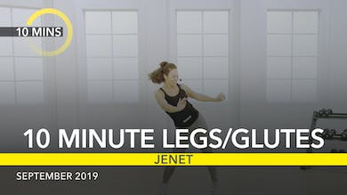 10 MINUTE LEGS/GLUTES by Jazzercise On Demand