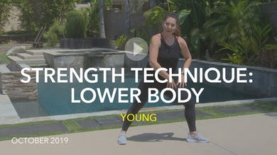 STRENGTH TECHNIQUE: LOWER BODY by Jazzercise On Demand