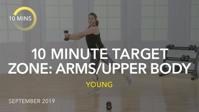 10 MINUTE TARGET ZONE: ARMS/UPPER BODY by Jazzercise On Demand