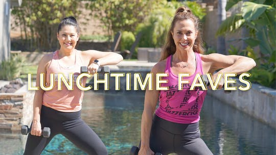 quick, effective workouts you can fit in on your lunch hour, and still have time for lunch! by Jazzercise On Demand