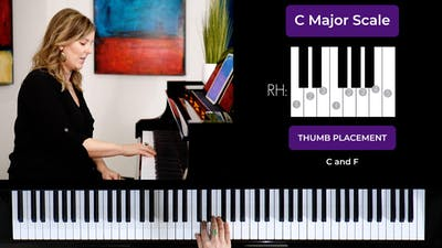 C Major 1 Octave Scale by Musical Minds Online