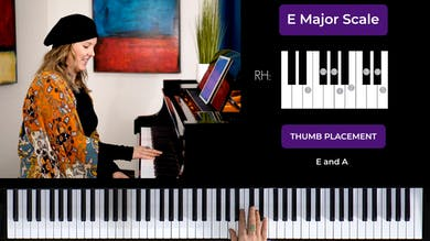 E Major 1 Octave Scale by Musical Minds Online