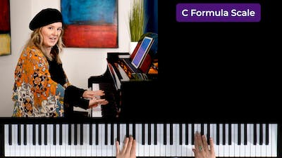 Instant Access to Formula Scale by Musical Minds Online, powered by Intelivideo