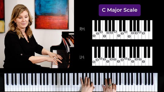 Get access to C Major 2 Octave Scale by Musical Minds Online