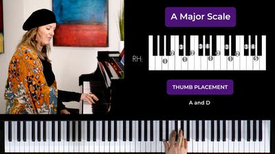 A Major 2 Octave Scale by Musical Minds Online