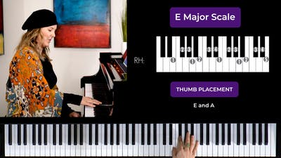 E Major 2 Octave Scale by Musical Minds Online