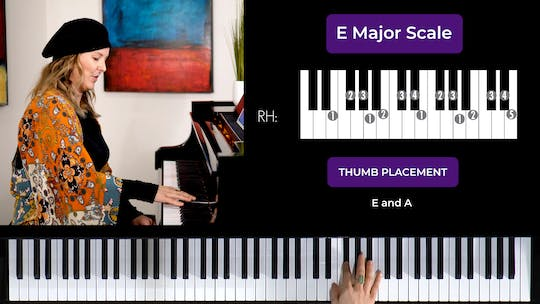Get access to E Major 2 Octave Scale by Musical Minds Online