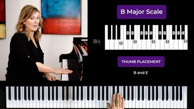 B Major 2 Octave Scale by Musical Minds Online