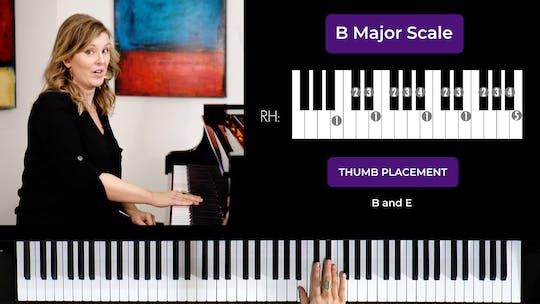 Get access to B Major 2 Octave Scale by Musical Minds Online
