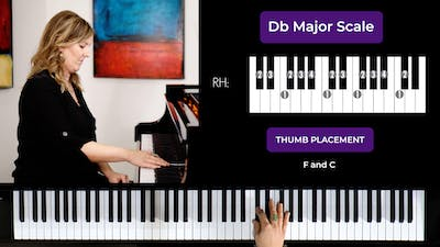 Db Major 2 Octave Scale by Musical Minds Online