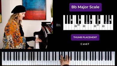 Bb Major 2 Octave Scale by Musical Minds Online