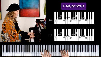 F Major 2 Octave Scale by Musical Minds Online
