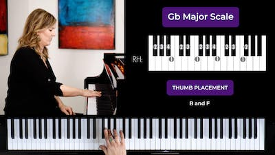 Gb Major 2 Octave Scale by Musical Minds Online