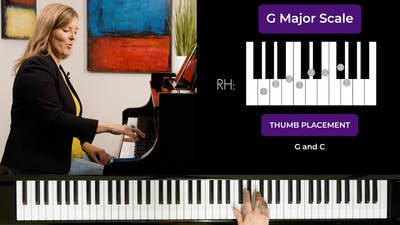 G Major 1 Octave Scale by Musical Minds Online