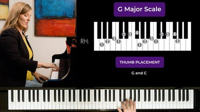 G Major 2 Octave Scale by Musical Minds Online
