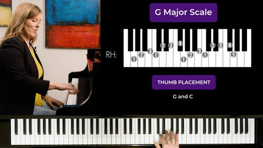 Get access to G Major 2 Octave Scale by Musical Minds Online