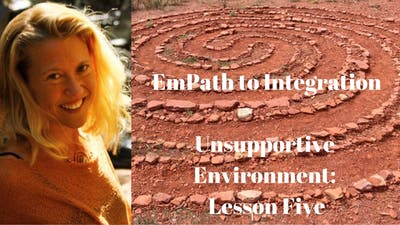 Module 7 -  Unsupportive Environments: Lesson Five | EmPath to Integration Course by Awoken TV