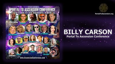 Instant Access to Billy Carson - Portal To Ascension Conference by Awoken TV, powered by Intelivideo