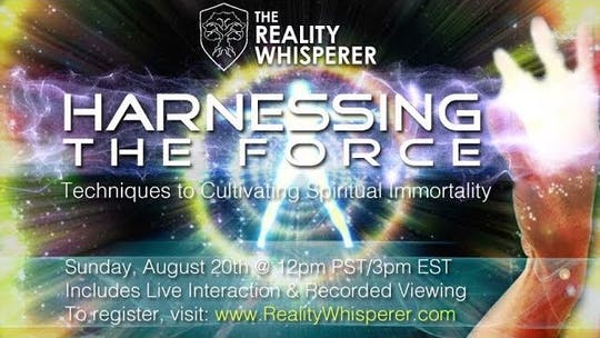 Get access to Harnessing the Force - Presented by Brad Johnson by Awoken TV