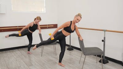 bootybarre | Quick Burn by Pilates Barre On Demand