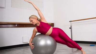 Fit Ball Core & Legs by Pilates Barre On Demand