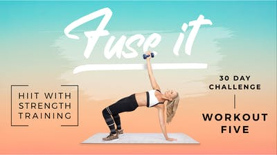 Fuse It - Workout 5 by Pilates Barre On Demand