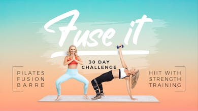 Fuse It Calendar by Pilates Barre On Demand