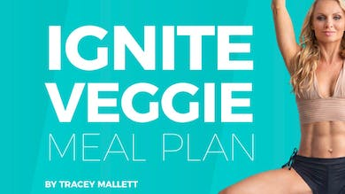 IGNITE | Veggie Meal Plan 1400 Calories by Pilates Barre On Demand