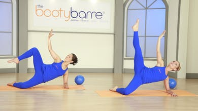 Ballet bootybarre | Floor Abs, Thighs & Stretch by Pilates Barre On Demand