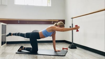 Pilates Weighted Sculpt | LIVE by Pilates Barre On Demand