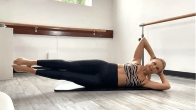 PIlates Abs on Fire | LIVE by Pilates Barre On Demand