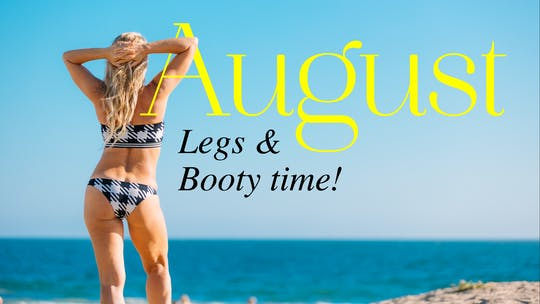 August 2020 Calendar by Pilates Barre On Demand